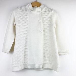 Janie and Jack Girls Knit Sweater Cardigan 2T